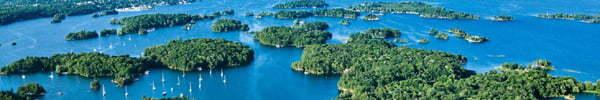Bandeau 1000 îles en Ontario