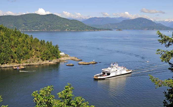 Traversier île de Vancouver