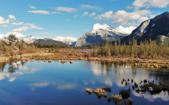 Lac Vermilion à Banff