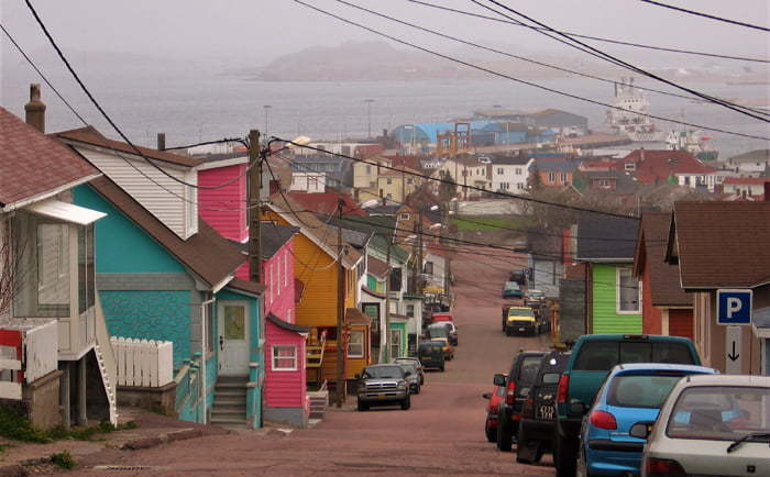 Rue à St-Pierre & Miquelon
