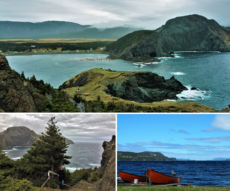 Terre-Neuve : vue Bay of Islands à Terre-Neuve