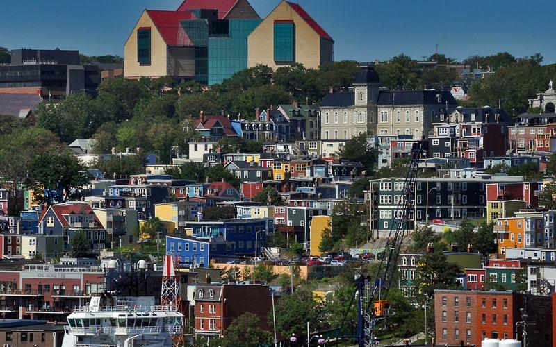 St-John's la capitale de Terre-Neuve