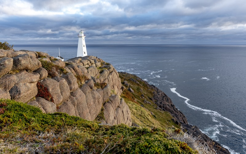 Terre-Neuve : Cap Spear et son phare