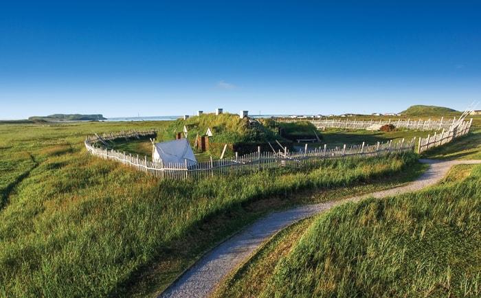 L'Anse-aux-Meadows à Terre-Neuve
