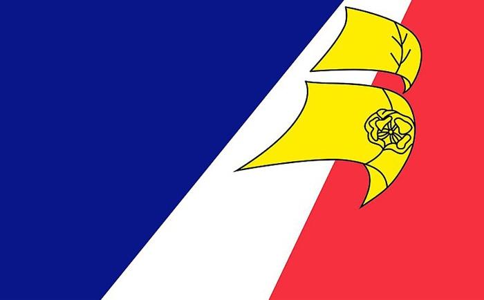 Drapeau des francophones de Terre-Neuve et Labardor