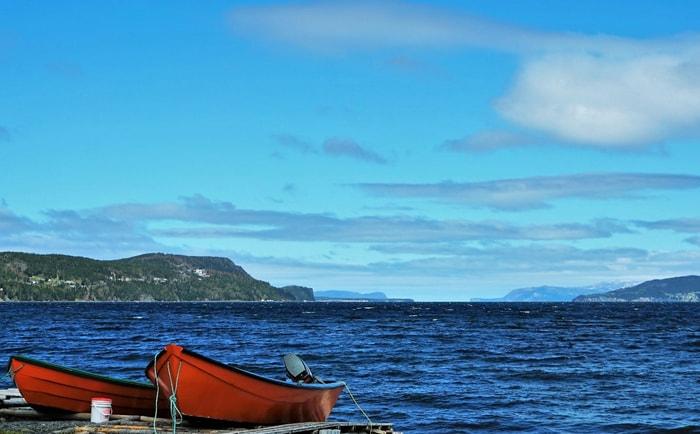 Bay of Islands à Terre-Neuve