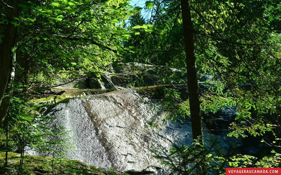 Randonée du lac Poisson au parc national du Mt Tremblant