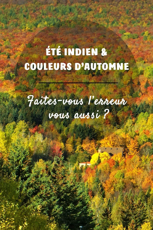 Image Pinterest été indien et couleurs d'automne