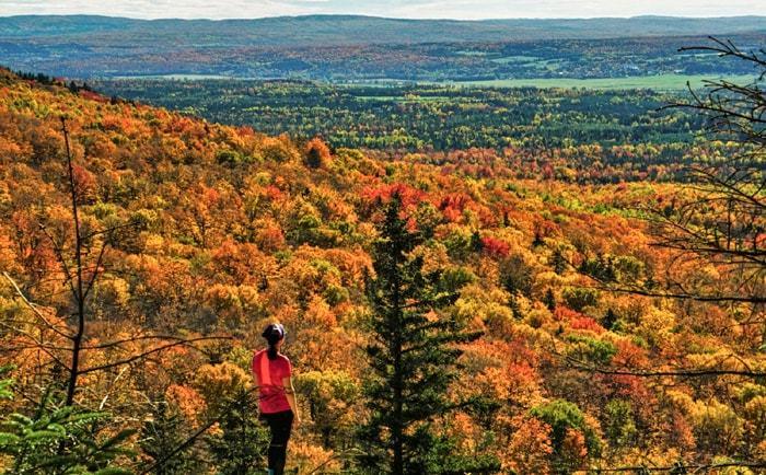 Couleurs d'automne au parc national du Mont Mégantic