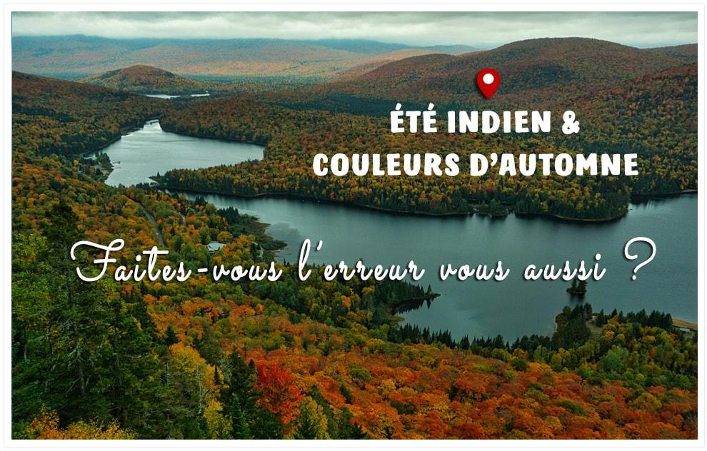 Couleurs d'automne au parc national du Mont-Tremblant