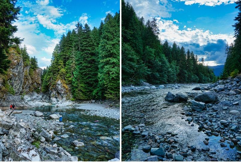 Paysages du parc provincial Kleanza Creek