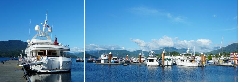 Bateaux au port de Prince Rupert
